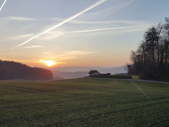 Sonnenaufgang 15.03.2017